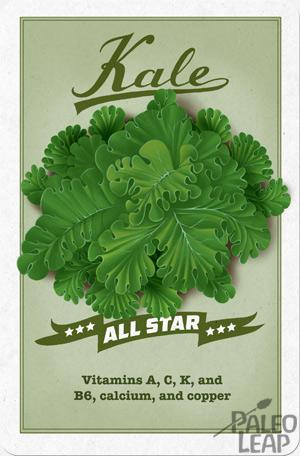 Nutritious kale