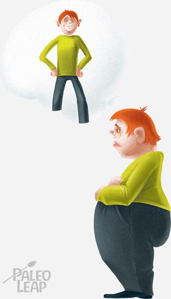 Imagining weight loss