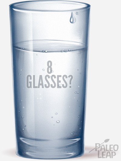 Fresh glass of water