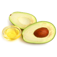 avocado with oil