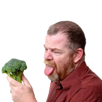 Man who hates broccoli