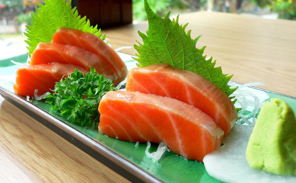 Raw fish sushi paleo leap paleo diet recipes tips for Is sushi raw fish