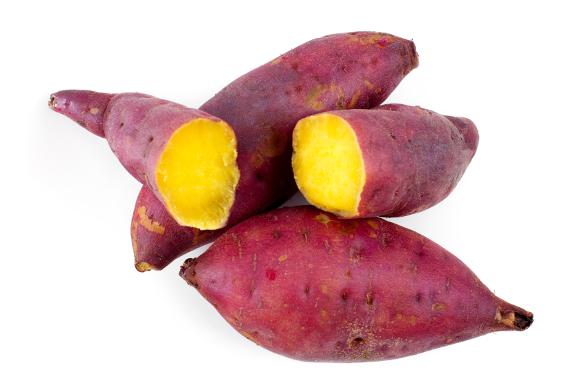 how to cook purple skin yams