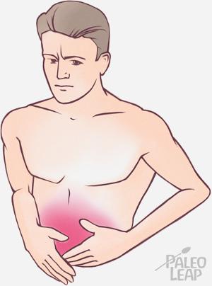 upset stomach