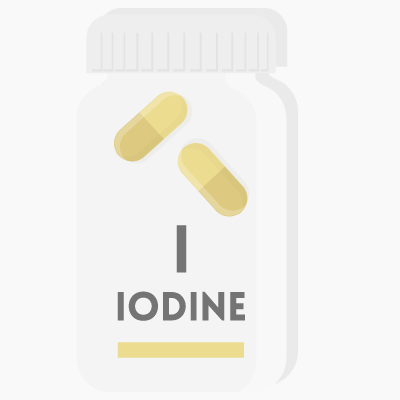 Too much iodine?