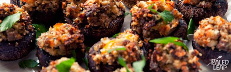 sausage-stuffed-mushrooms-easter