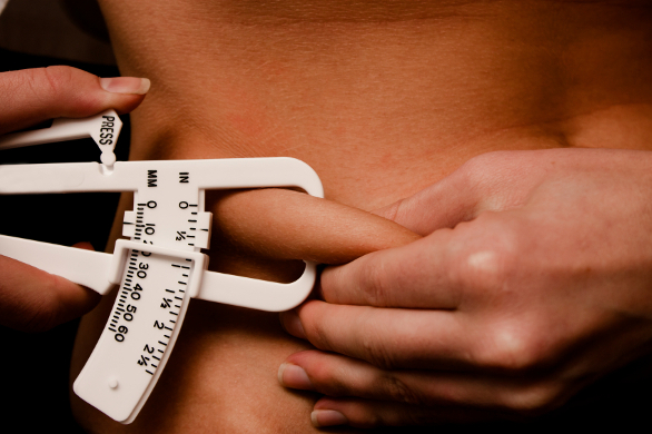 calipers - body fat measurement