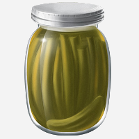 Fermented pickles