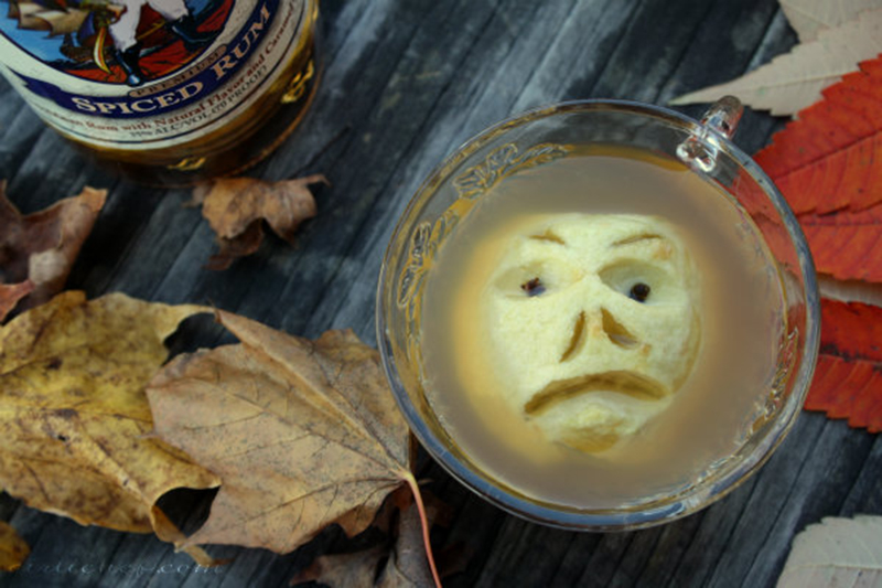 Shrunken Head in Cider (individual)