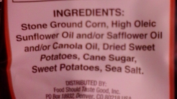 sp chips ingredients