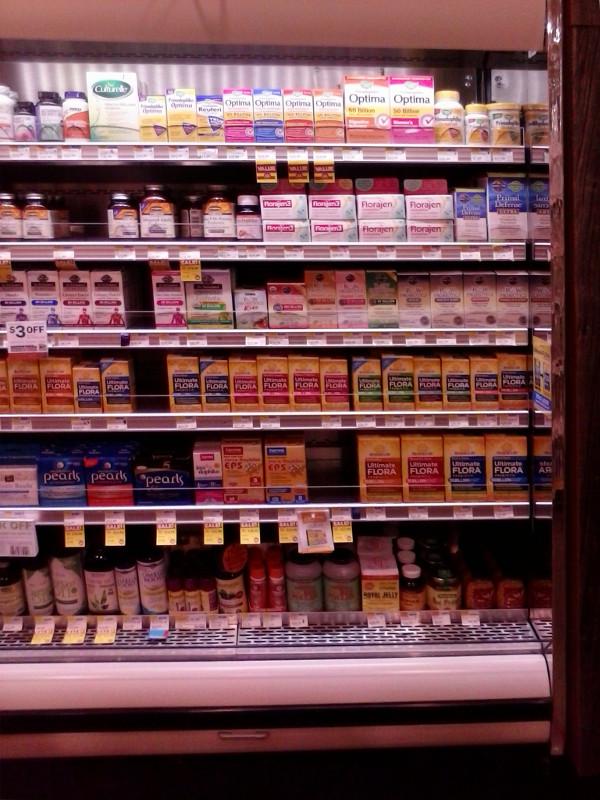 Probiotics in fridge