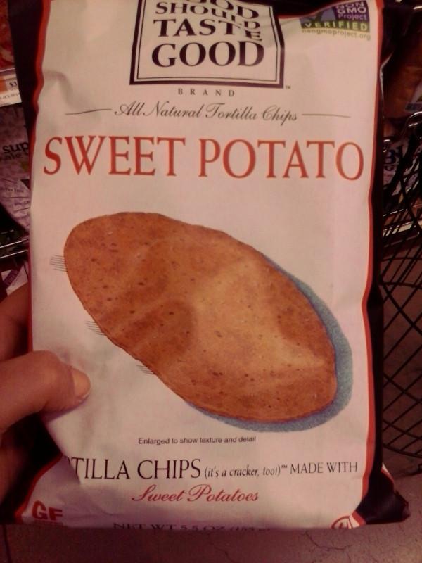 bad sweet potato chips