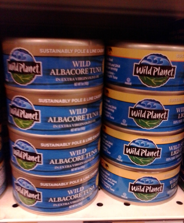 Wild planet tuna