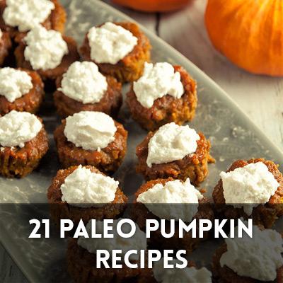 21 Paleo Pumpkin Recipes
